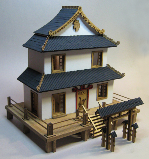 Quarter Scale Miniature Houses (kits only)